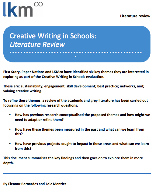 best schools for creative writing