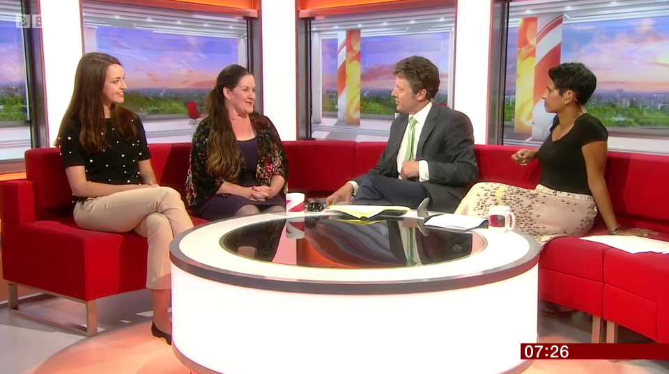 still image from bbc breakfast interview