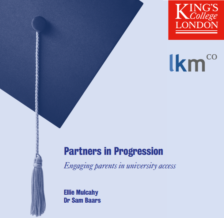 Partners in Progression: Engaging parents in university access - LKMco